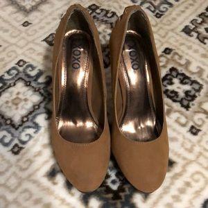XOXO high heel shoes